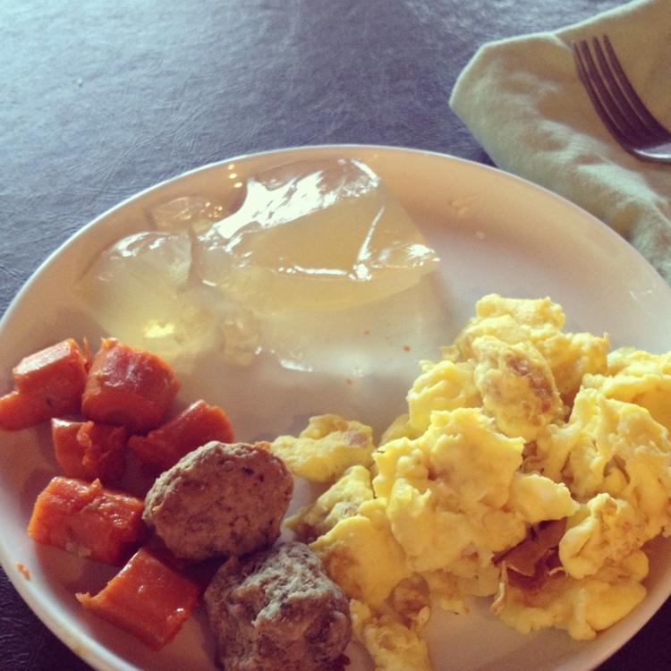 SCD Intro diet breakfast