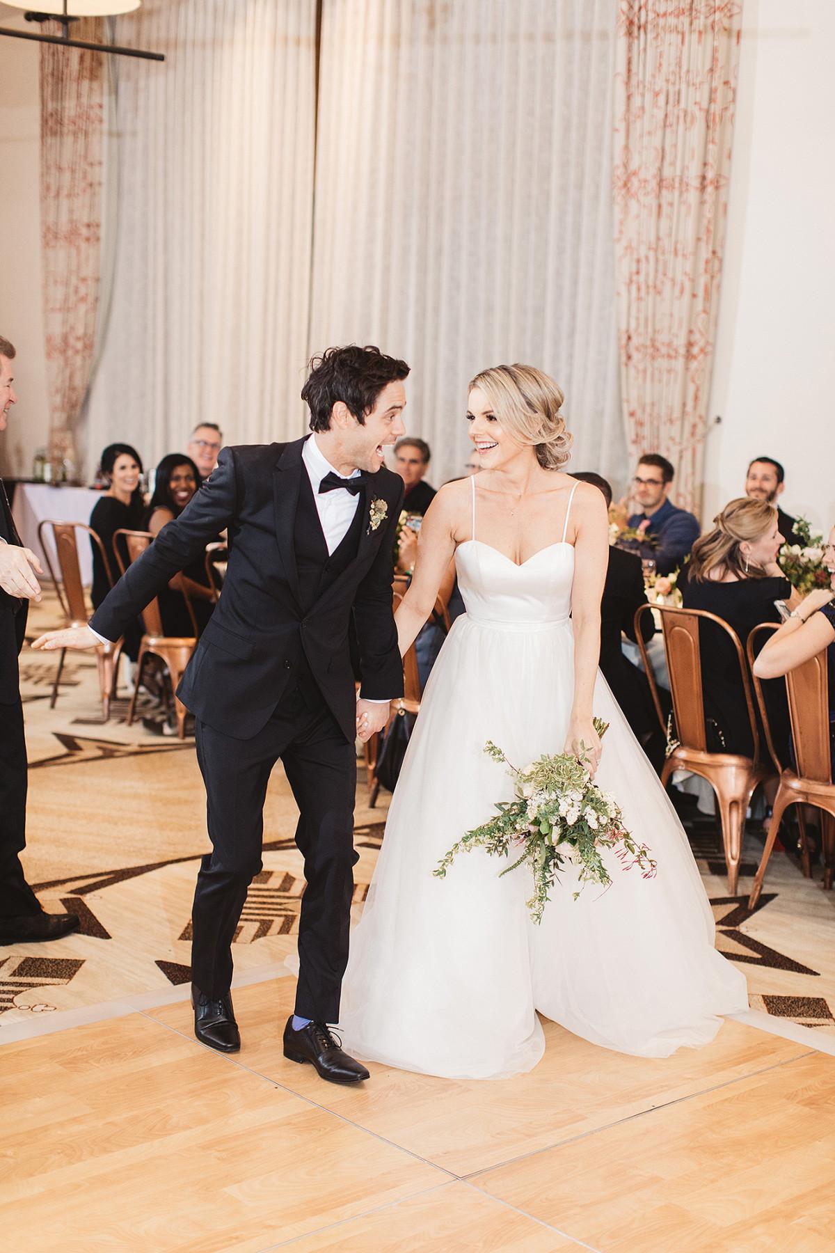 Ali Fedotowsky + Kevin Manno - In Moonlight Bridal