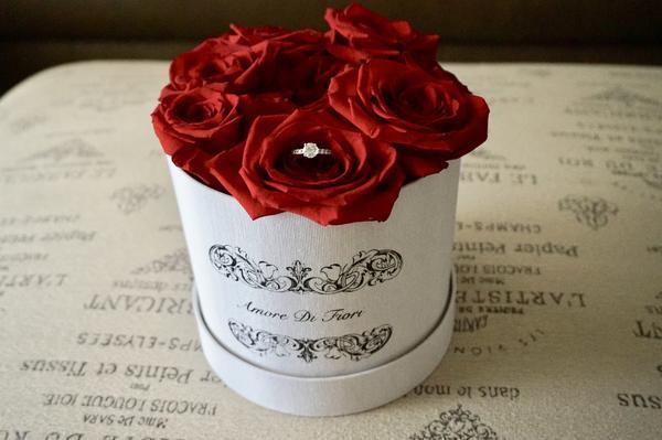 Amore Di Fiori Proposal Box