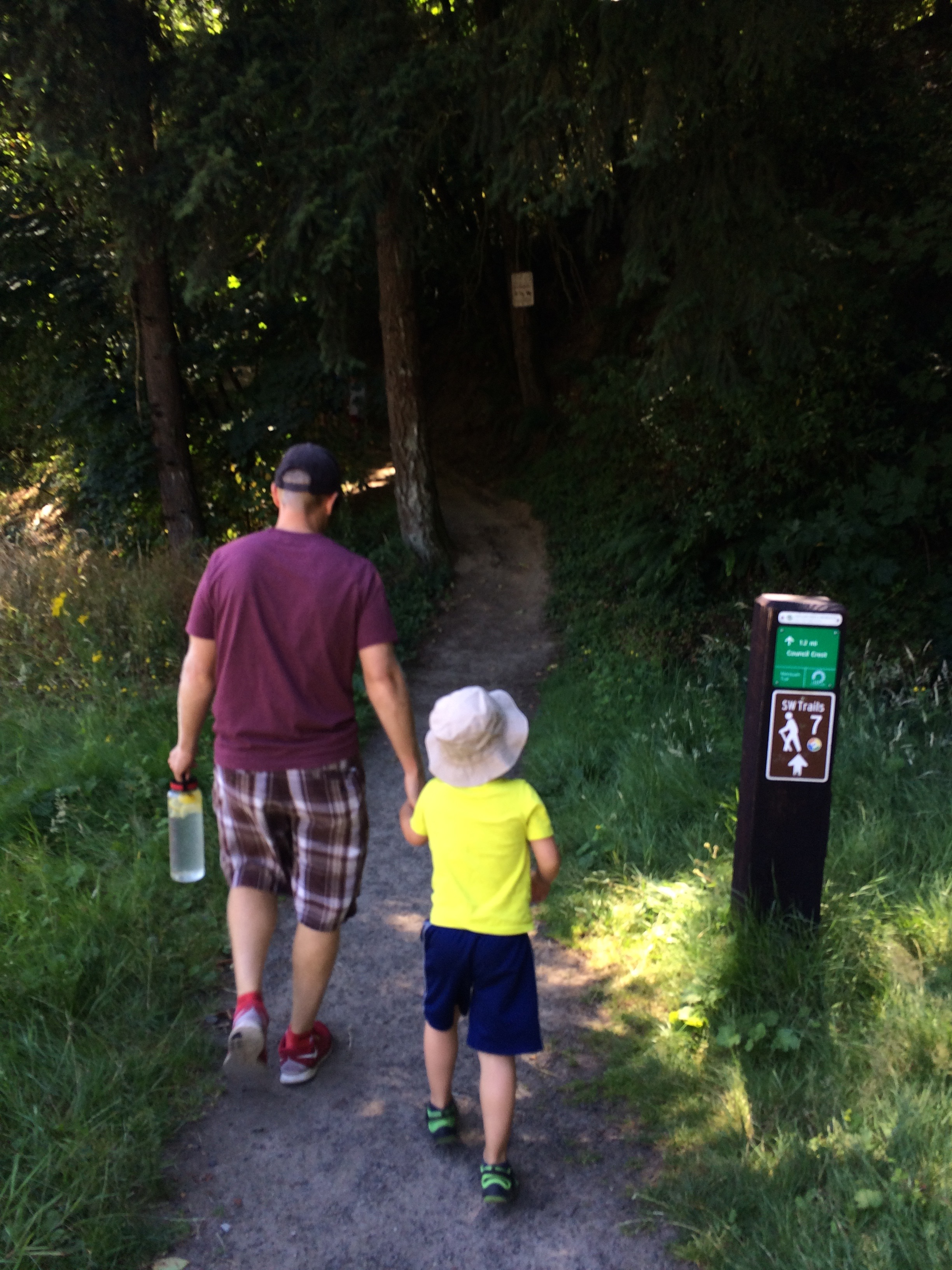 Portion of the 4T trail: Portland, OR