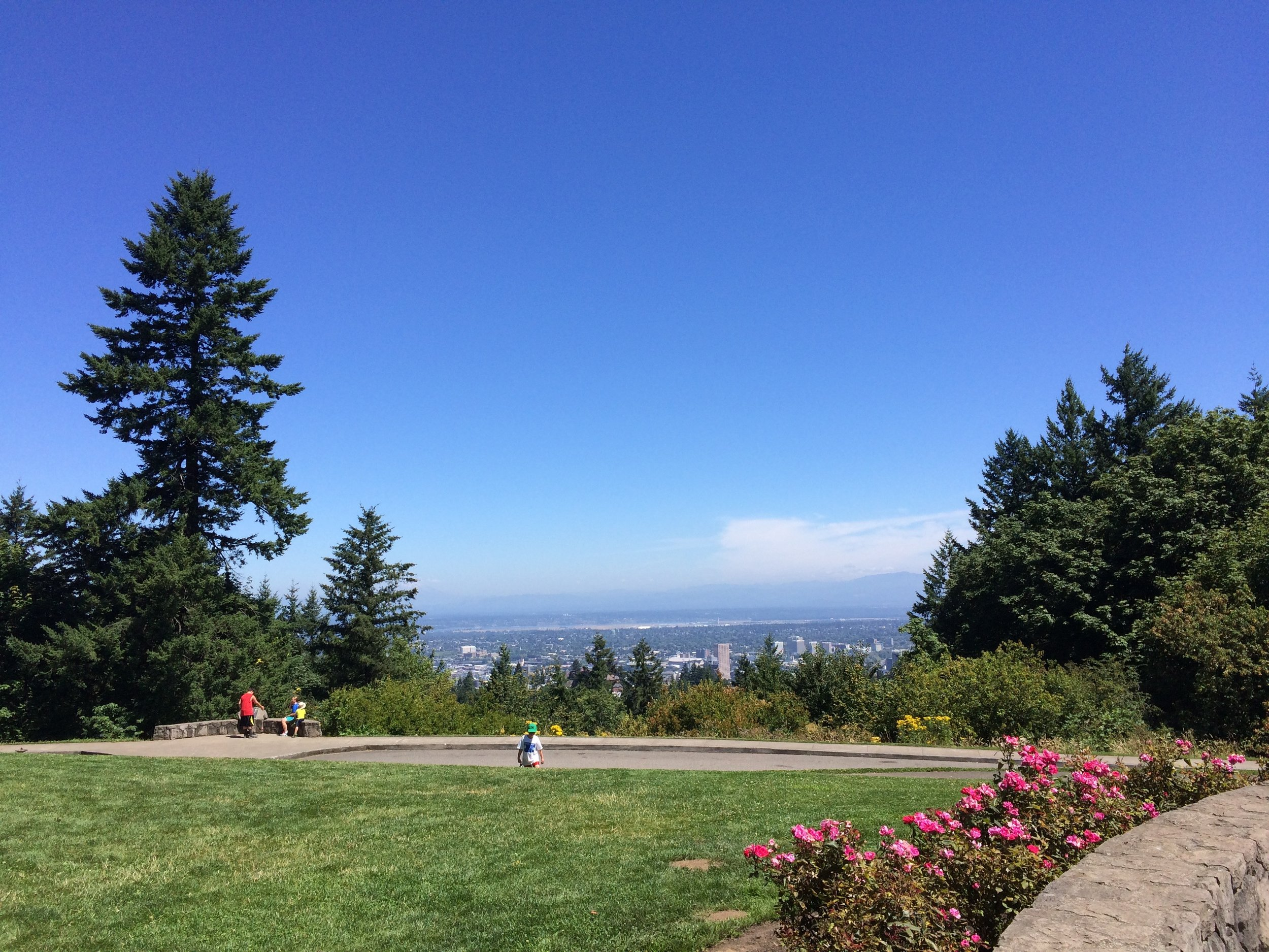 Portion of the 4T trail: Highest point in Portland
