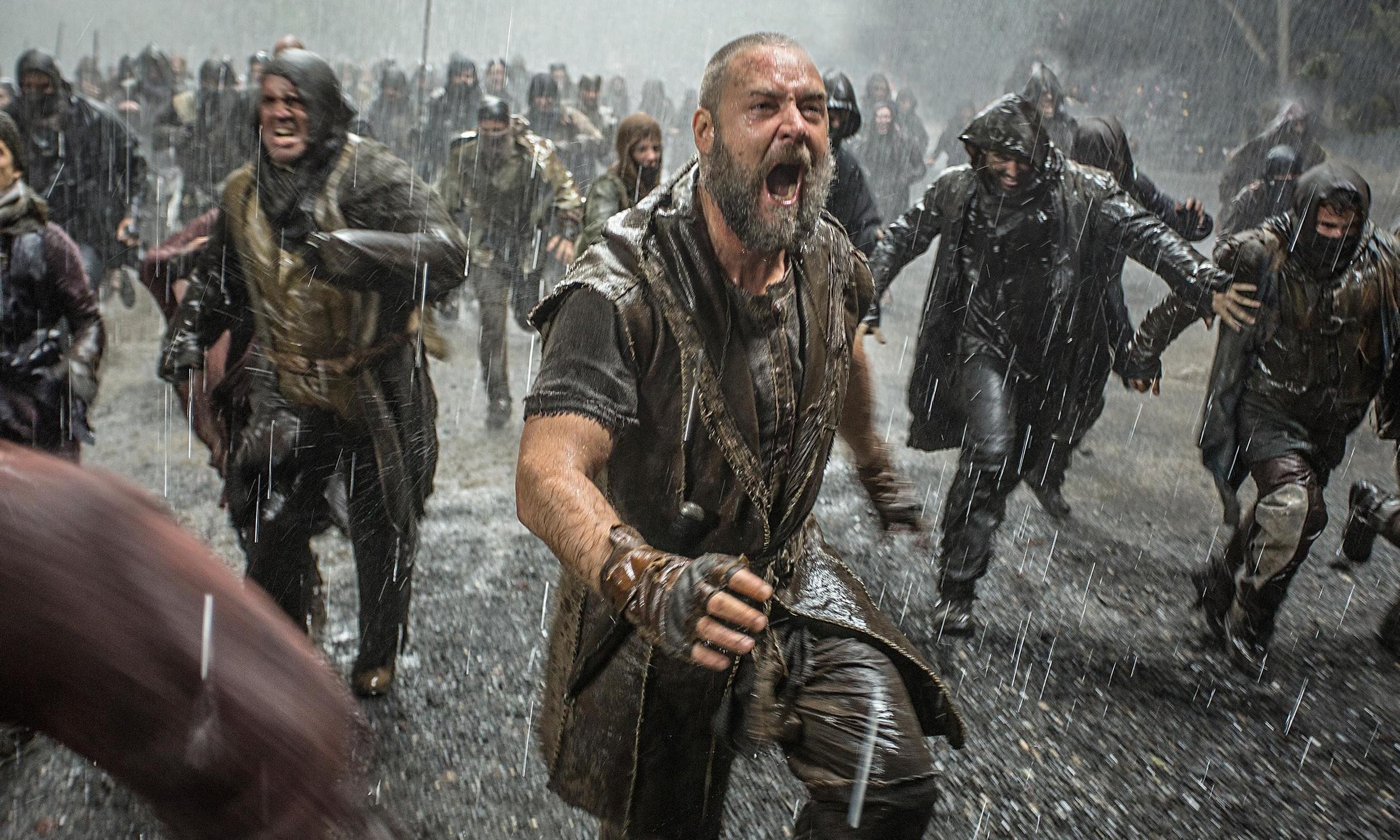 Noah heads off potential stowaways on his ark