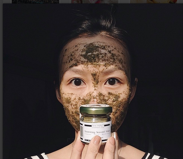 Shortsmallsweets_MungoMurphy_seaweedfacemask_review