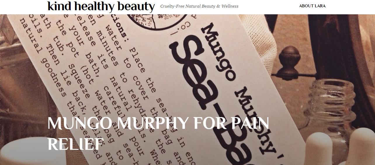 KindHealthyBeauty_MungoMurphy_SeaweedBath_Seabag_Review_PainRelief
