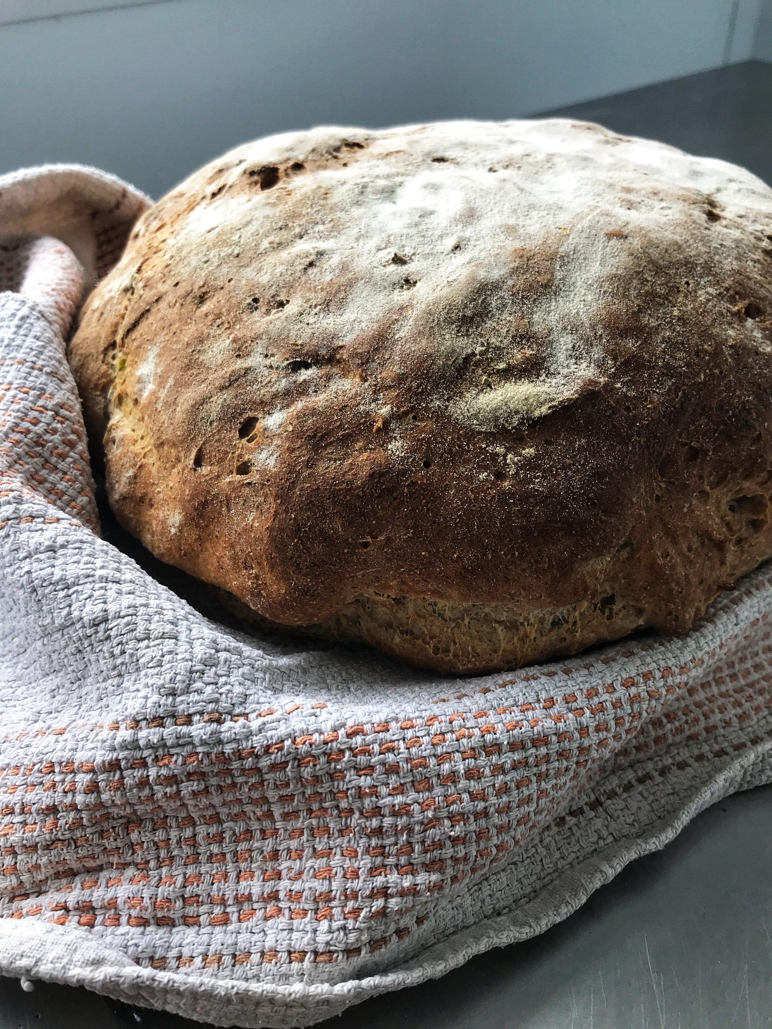 Sea Grass, Mint and Marjoram Yeast Bread - Yeast Bread