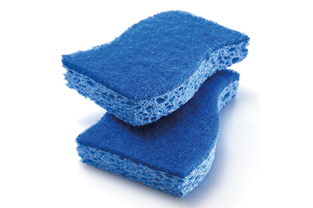 Non-scratch sponges