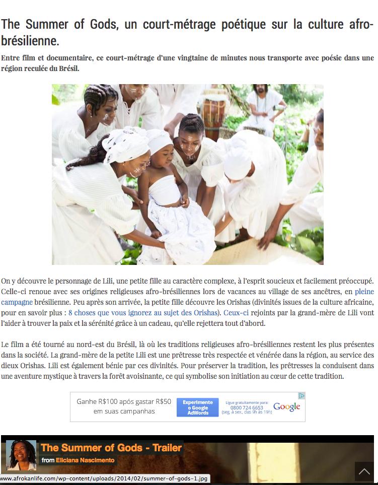 Source:  AfroKan Life , France.