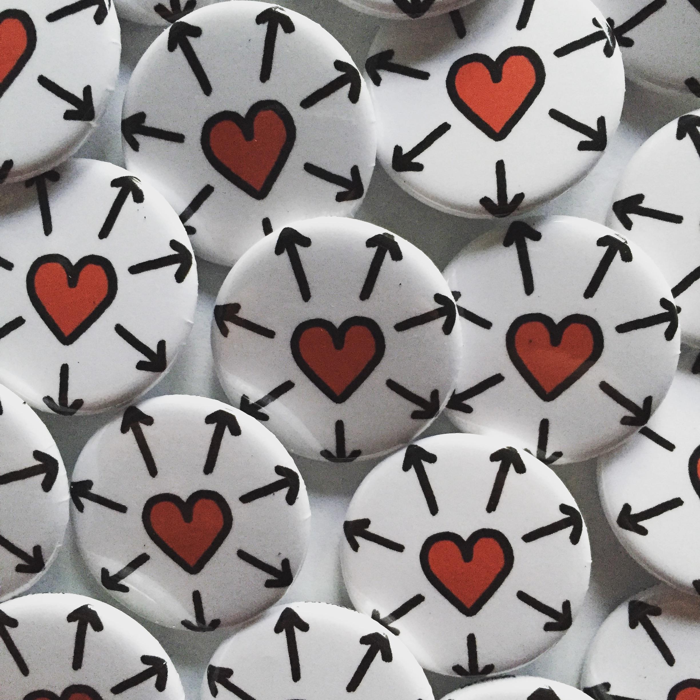 Ian Valor - Spread Love Symbol Buttons