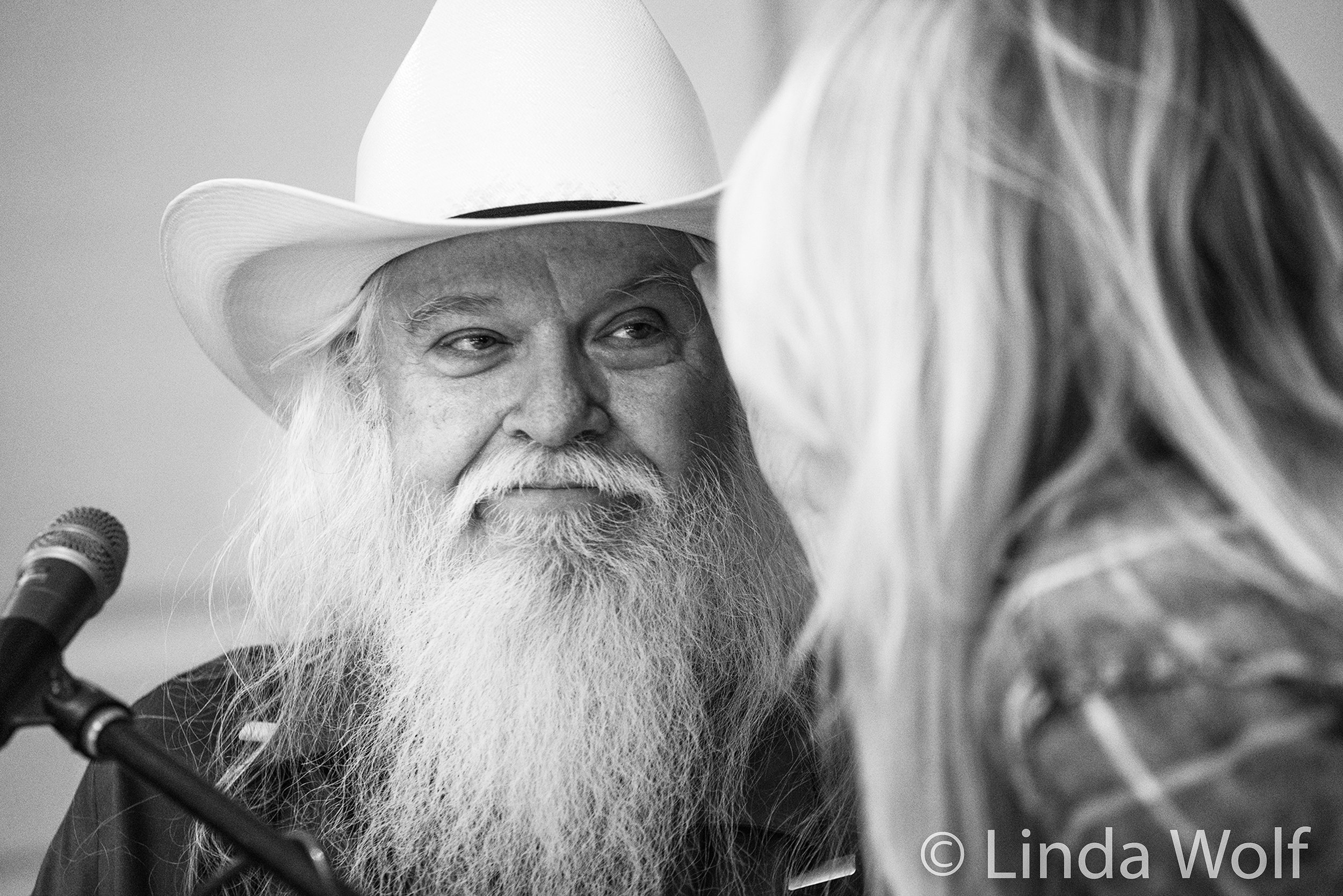 "leon russell - ""This was the happiest I have ever seen Leon and I've known him since I was eight years old.The respect he received from Susan and Derek, Claudia and Rita, and everyone lifted his spirits. He and Chuck Blackwell would embrace daily and there were often tears."" — Chad Goodner"