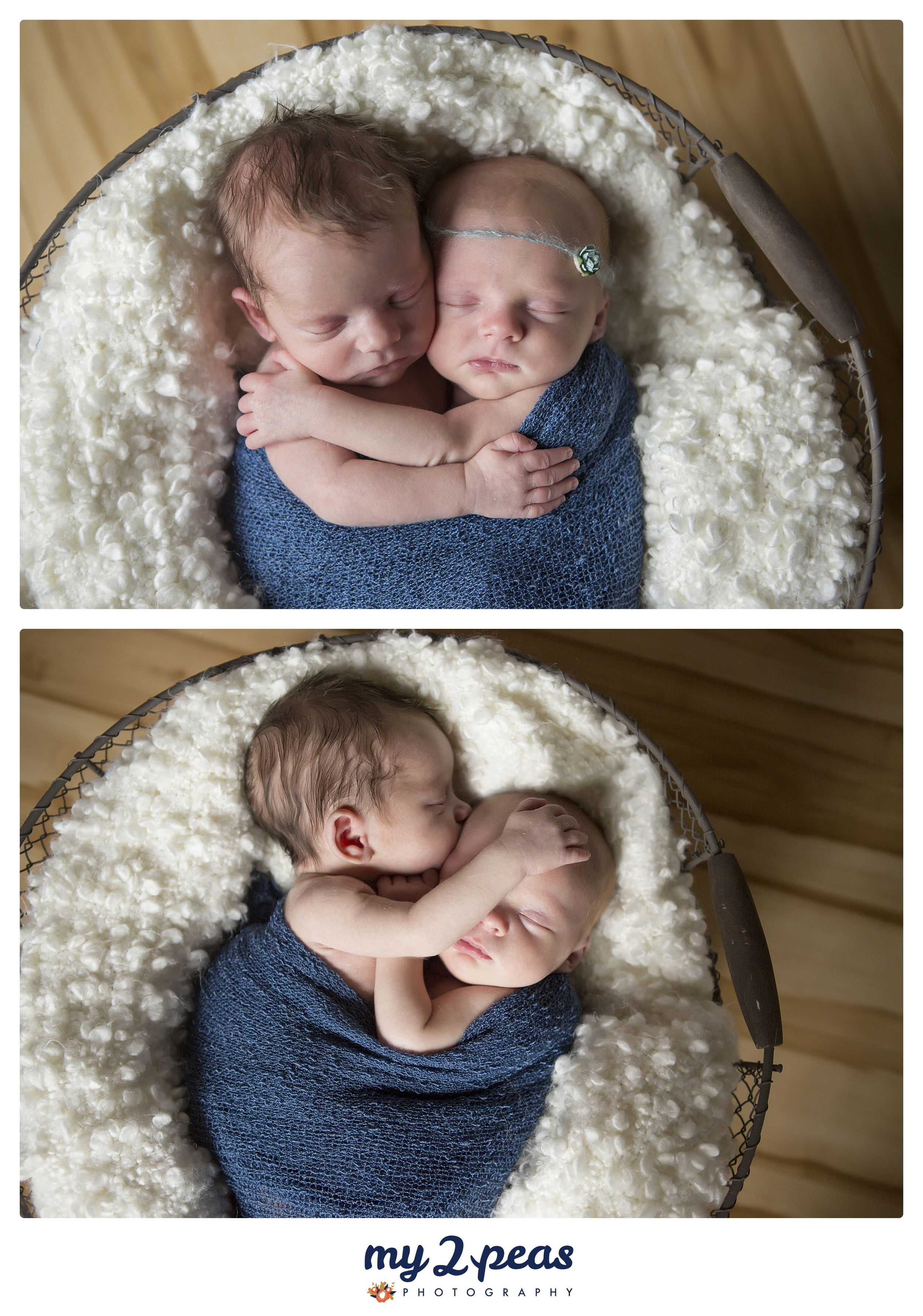 We all had a good laugh about the last one... I think we may have said something about how great he was hugging and loving on his sister and how someday they will probably fight... LOL!