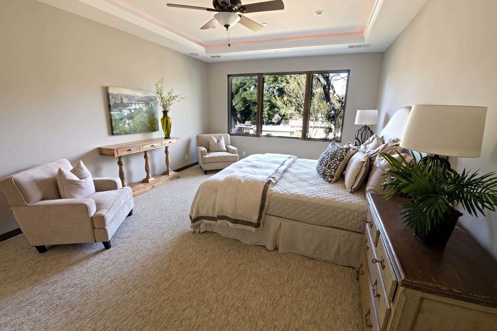 Mediterranean Custom Master Bedroom