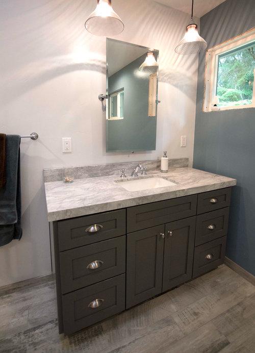 Coastal Craftsmen Bathroom