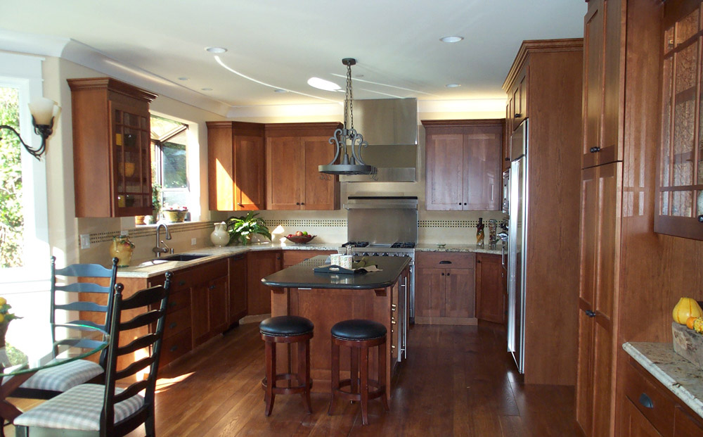 Craftsmen Custom Home Kitchen