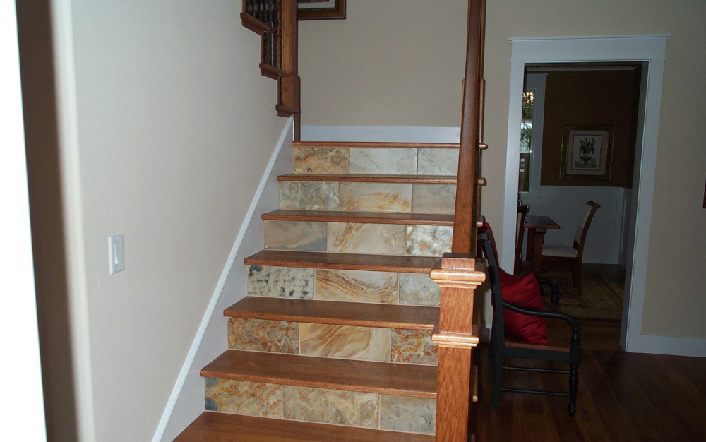 Craftsmen Custom Home Stairs