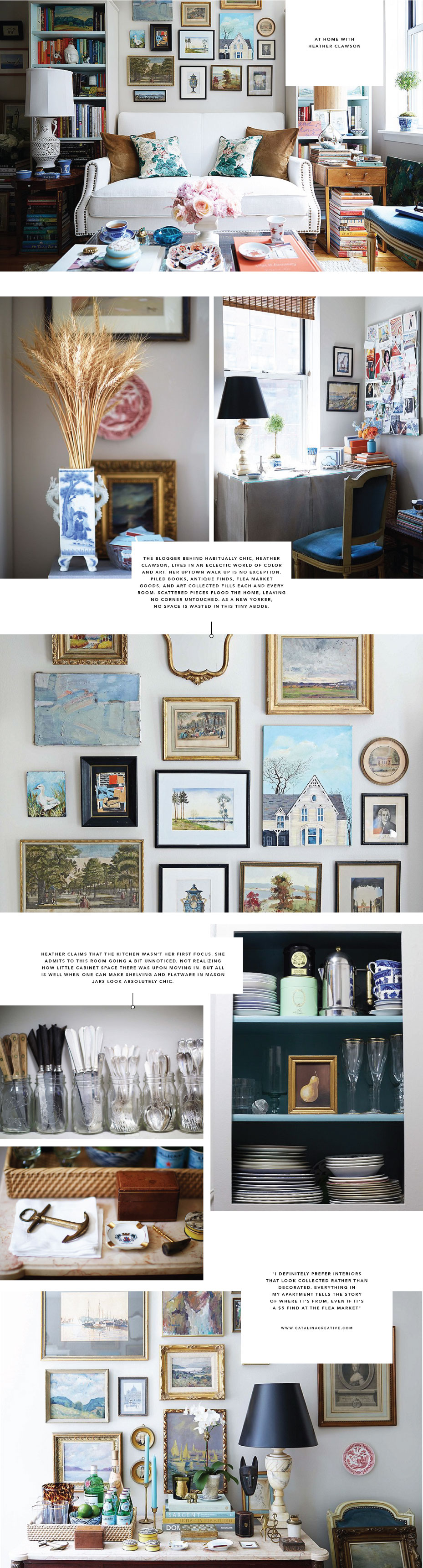 At Home with Heather Clawson on Catalina Creative