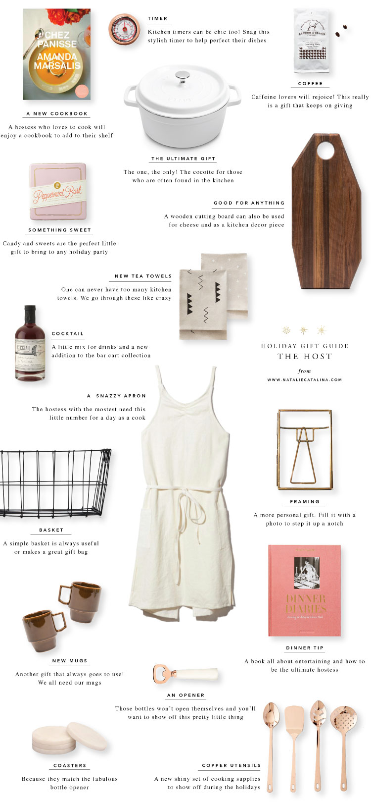 Gift Guide: The Host on Natalie Catalina