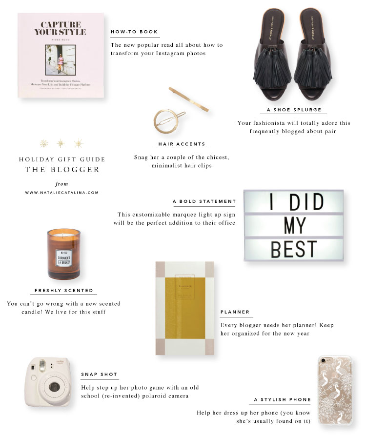 Gift Guide: The Blogger on Natalie Catalina