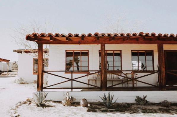 The Joshua Tree House on Natalie Catalina