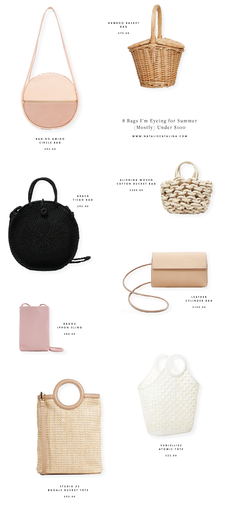 8 Bags I'm Eying for Summer on Natalie Catalina
