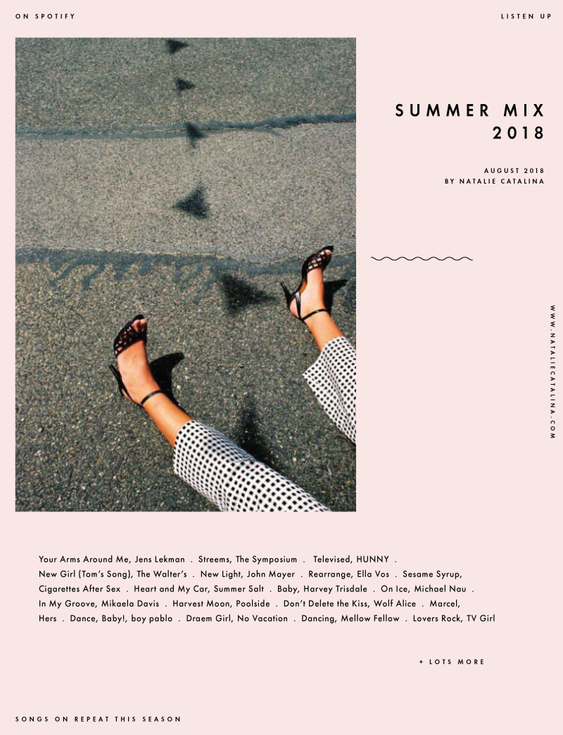 Summer Mix 2018, on Natalie Catalina
