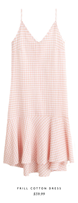 Frill Cotton Dress