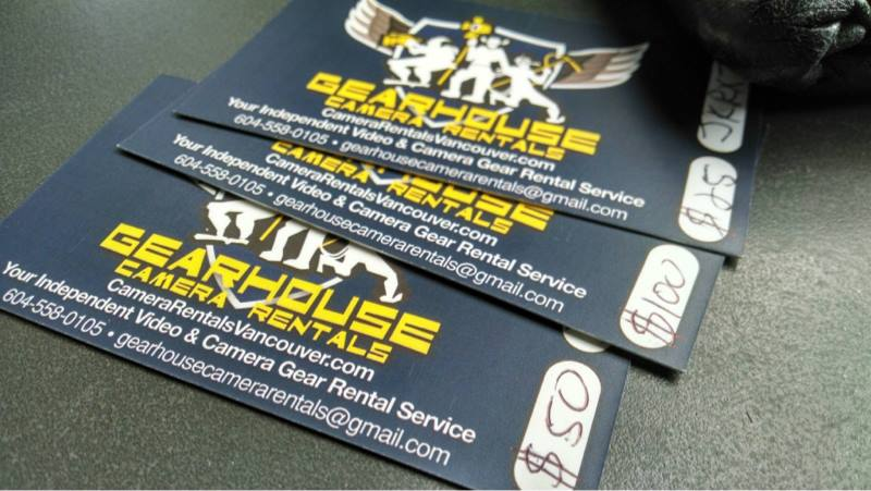 gearhouse camera giftcards