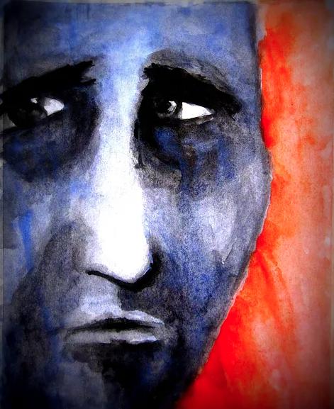 Paint it Blue / 12x16 / $60