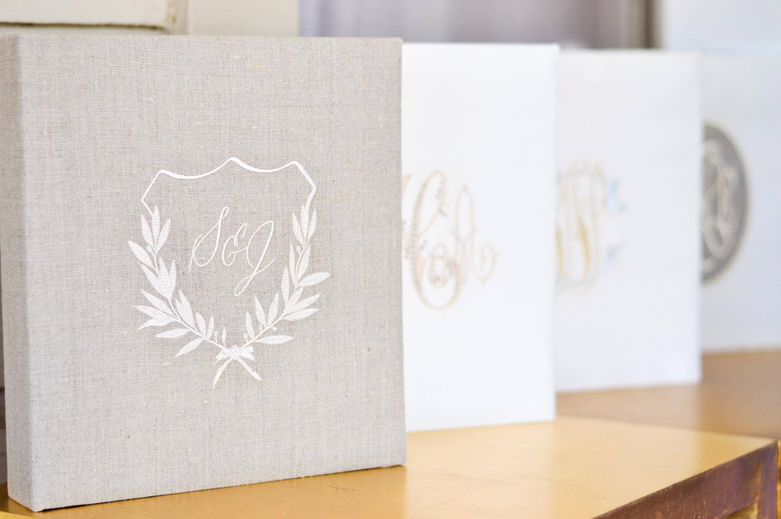 monogram wedding gift