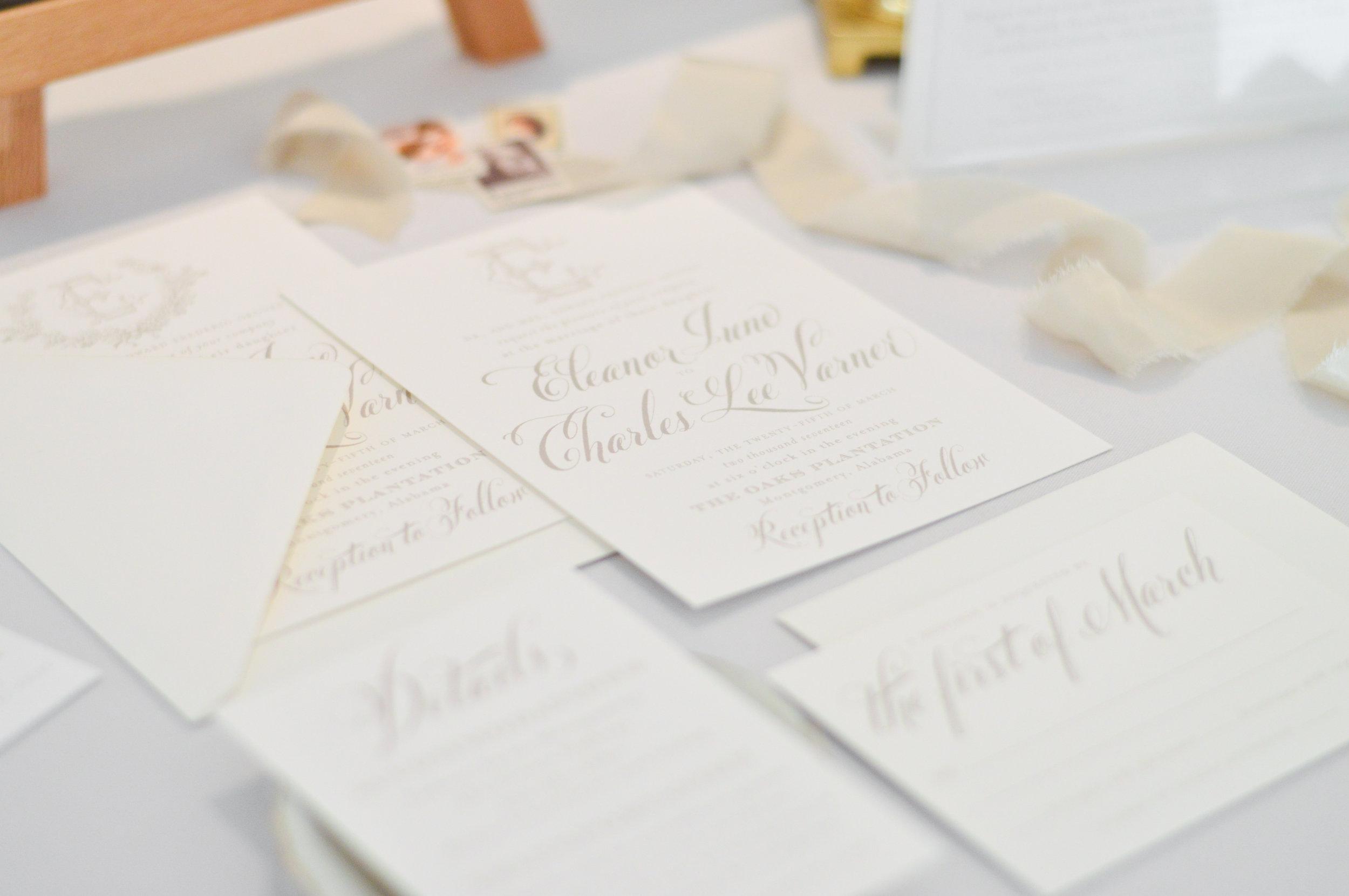 wedding invitation design layout