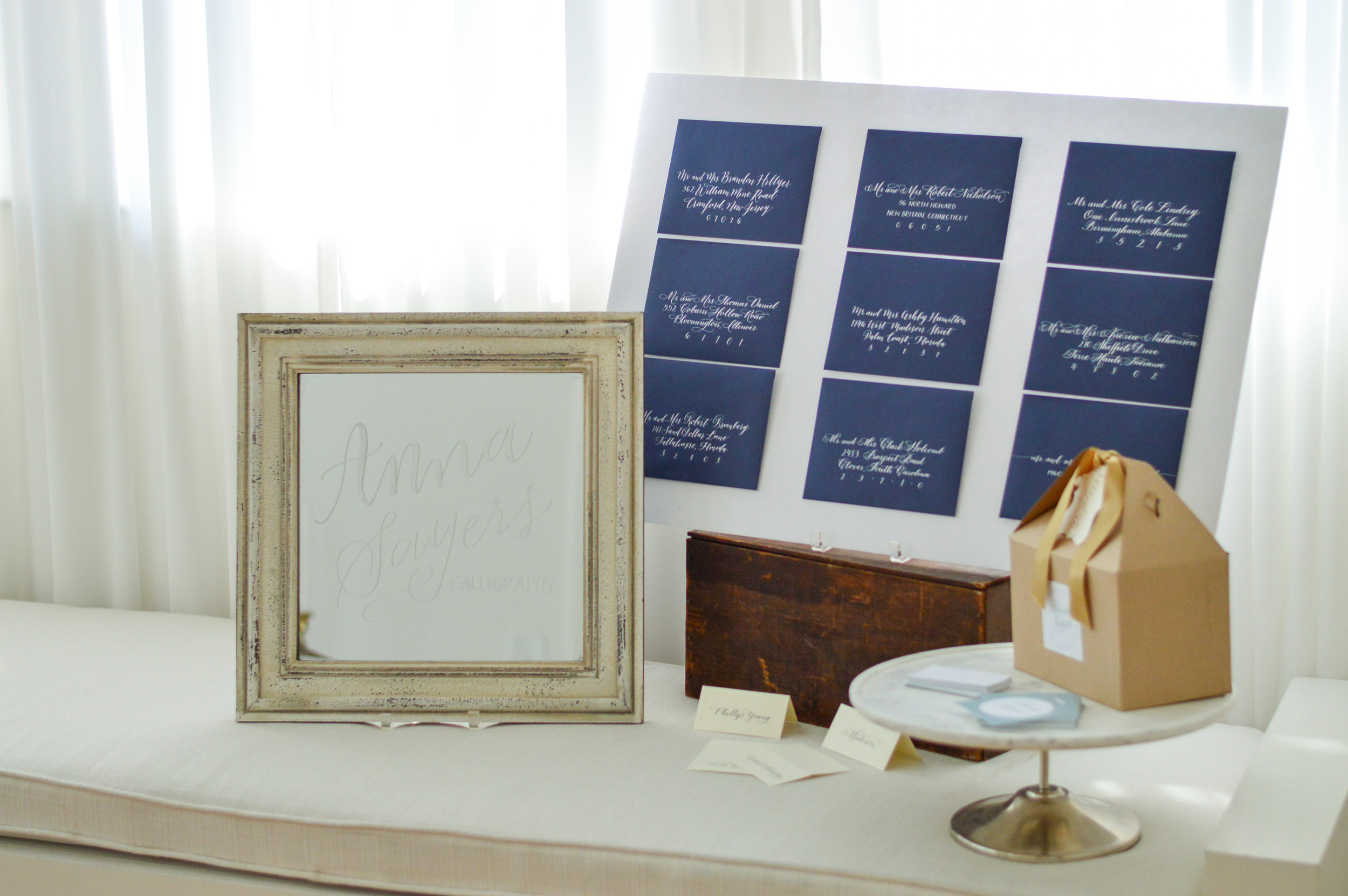 wedding invitations calligraphy
