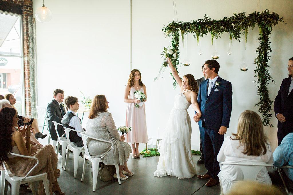 officially husband and wife alabama wedding