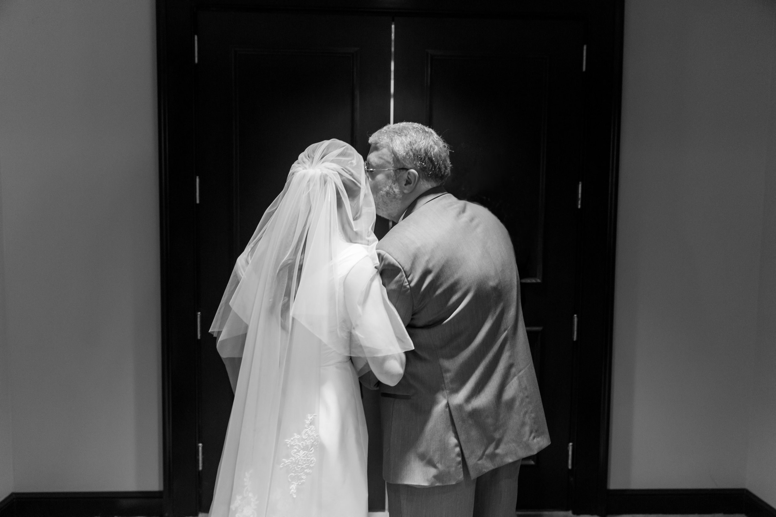 father daughter moment wedding