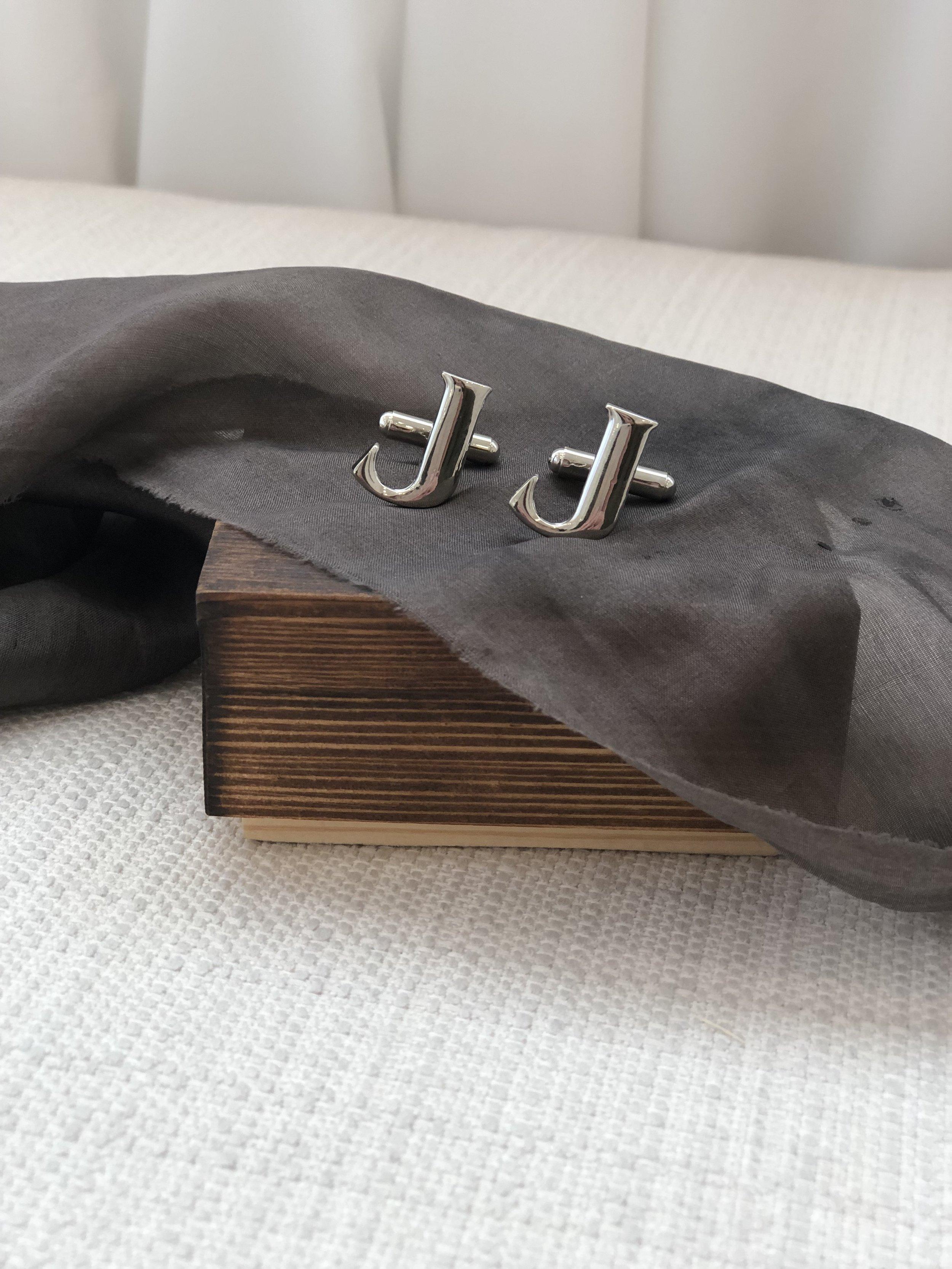 personalized groomsmen gift cuff links