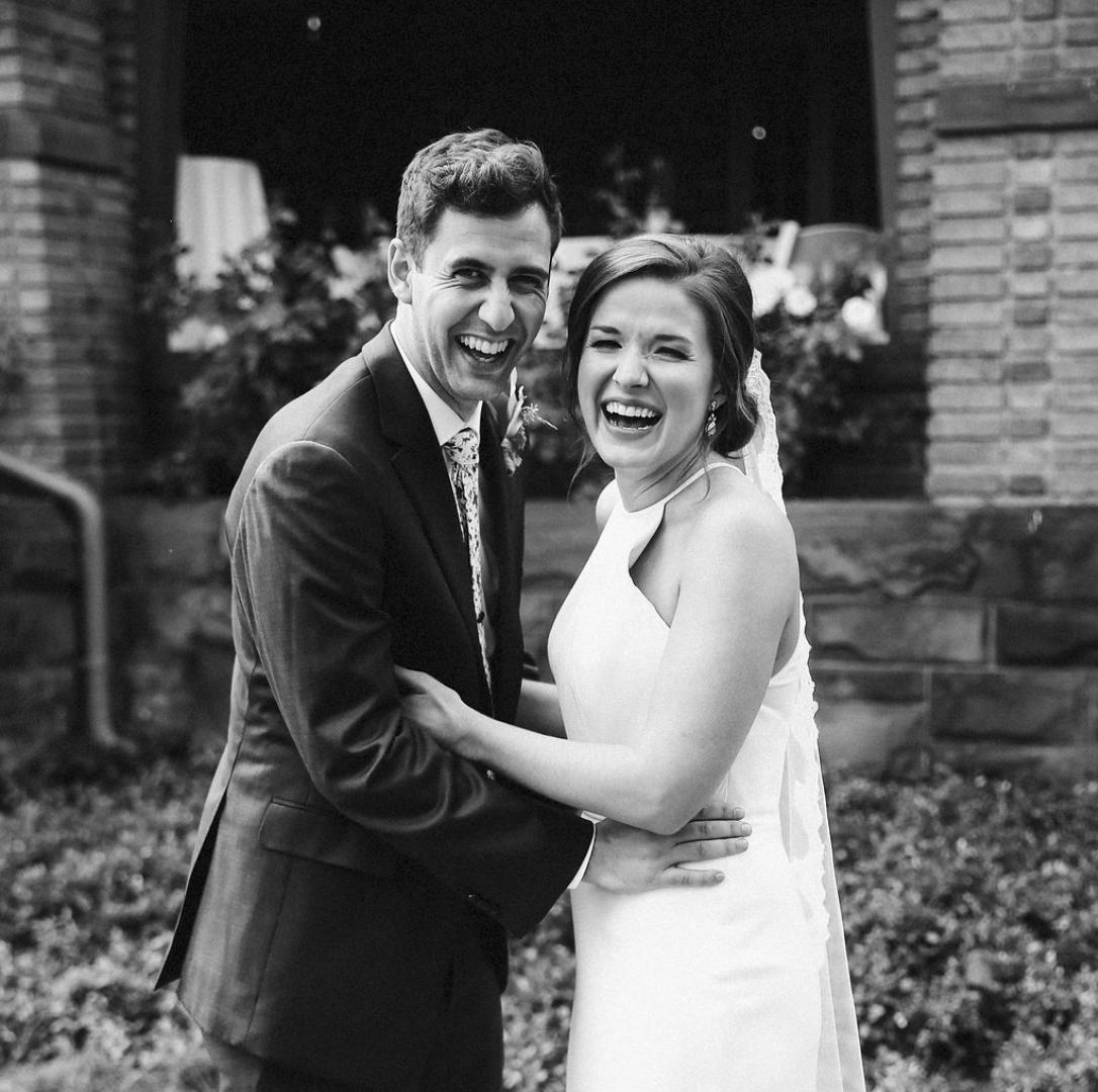 kelsey and josh wedding day