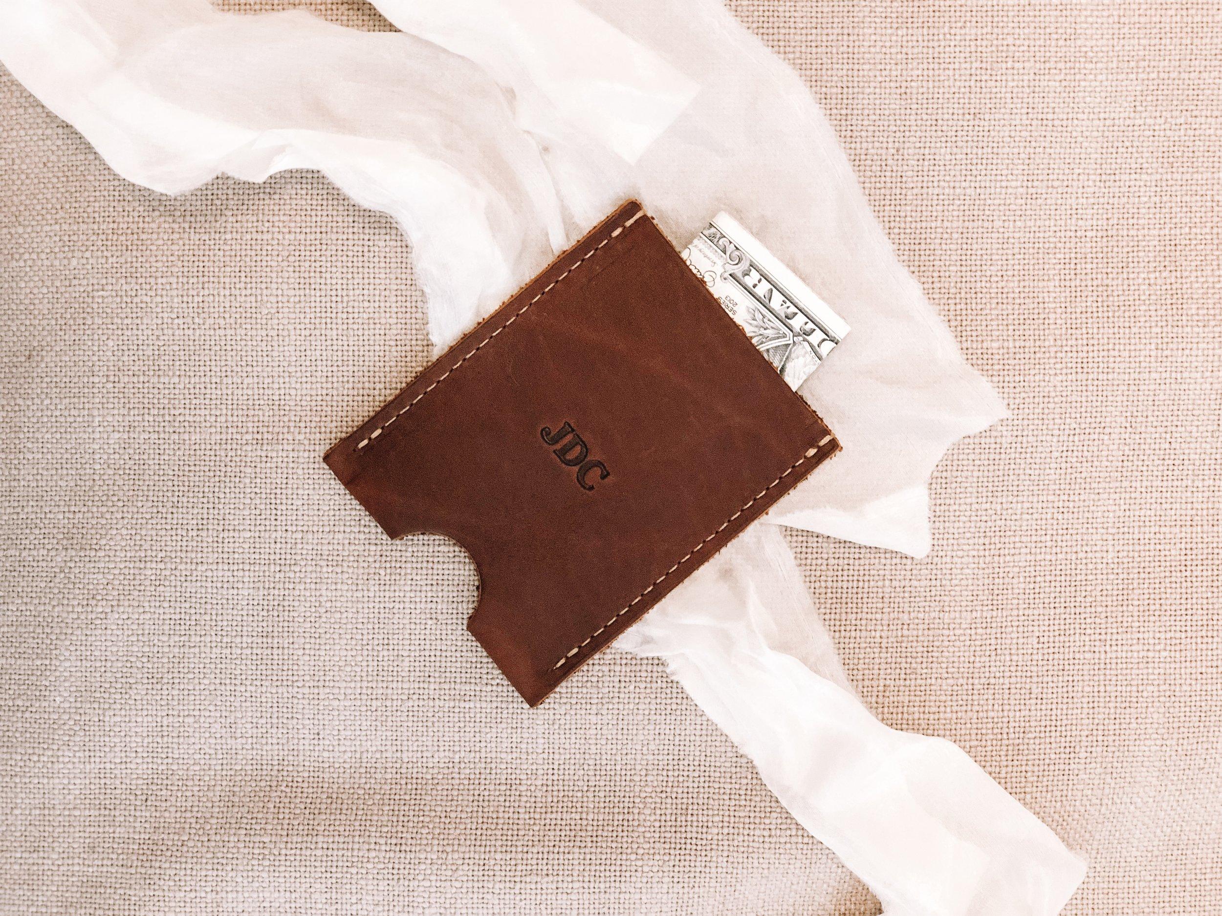 wallet, groomsman, groom, gift, personalized wallet, leather wallet