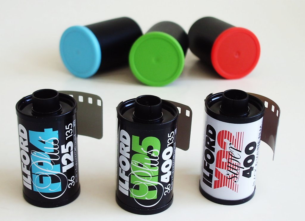 A few examples of different film.