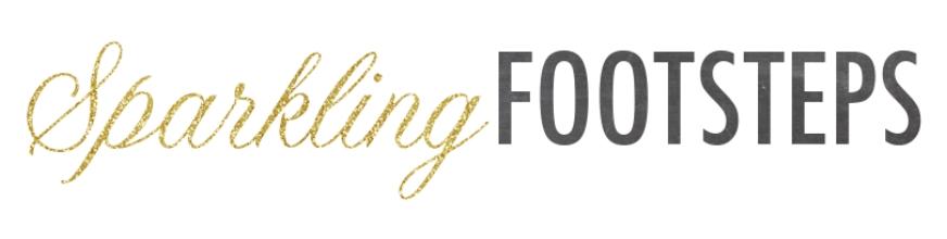 Sparkling Footsteps Logo