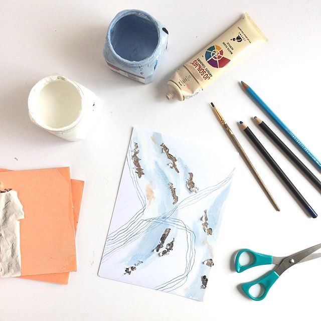Finalising details for a little art class I'm hosting on Sunday... . . . . #artjournalling #wip #newartwork #workinprogress #widn #artlife #exploringmeaning #newpainting #ontheeasel #originalart #dailyart #instaart #calledtocreate #doitfortheprocess #australianart #australianartist #melindak #painting #artandfaith #abstractart #artoffaith #musicandart #cardinia #emergingartist #thejealouscurator #carveouttimeforart #huffpostarts . . . .