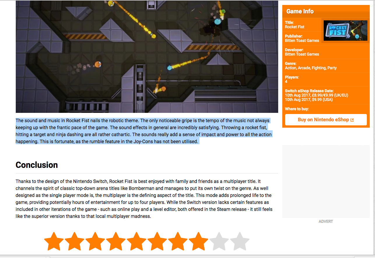Review da Nintendo Life
