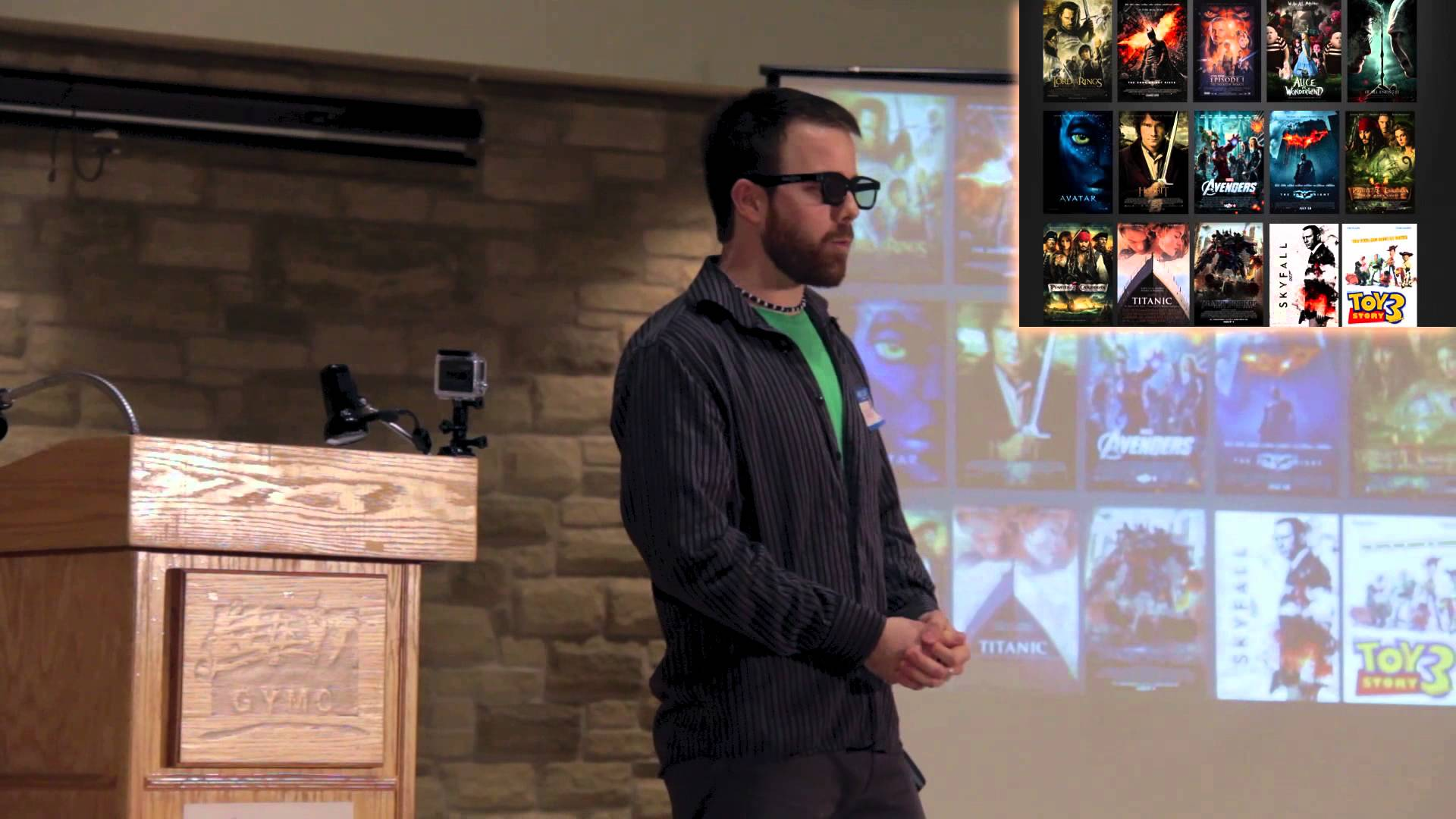 Nick Montgomery at Ignite Guelph 1