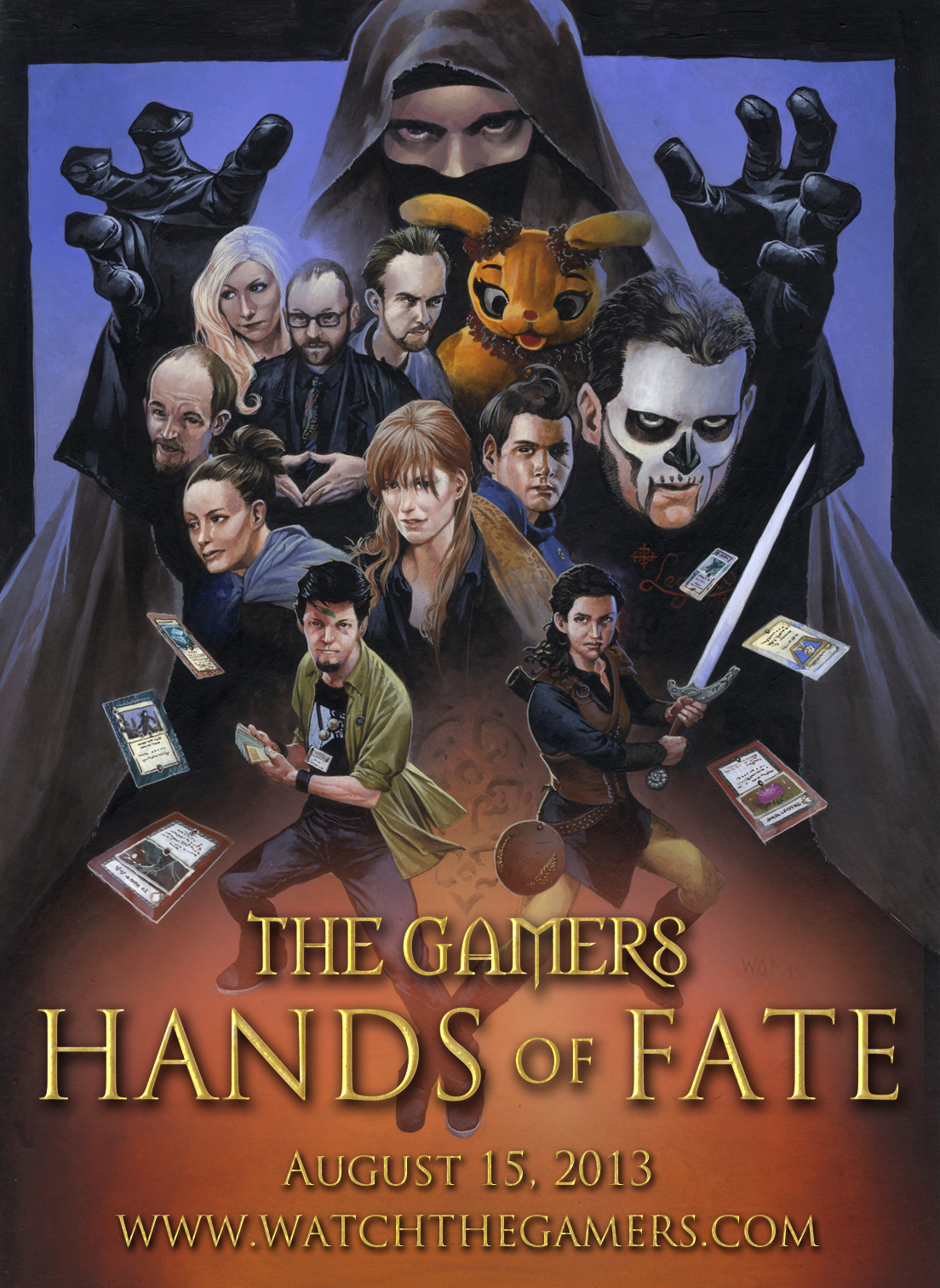Gamers: Hands of Fate poster