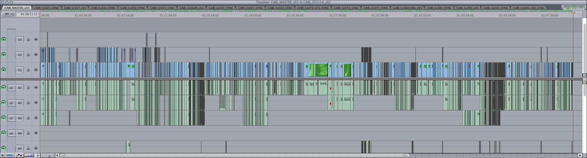Bite Final Cut Pro timeline