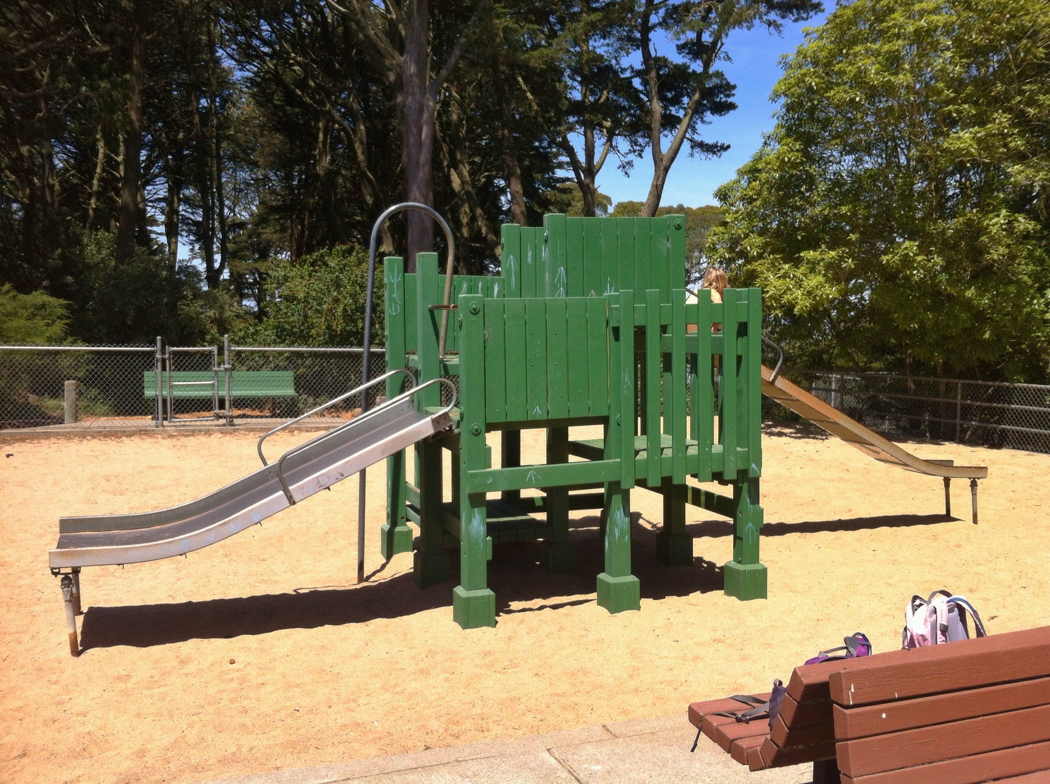Small playground at Golden Gate Heights
