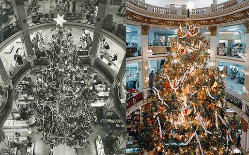 A couple of tree's from the City of Paris Department store (now Neiman Marcus) from the 40's and 50's