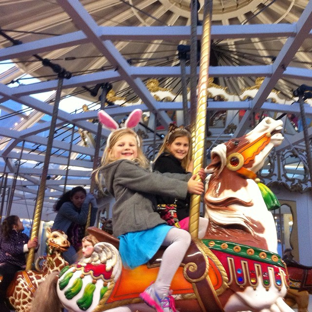 Looff Carousel - originally at Playland at the Beach till 1972