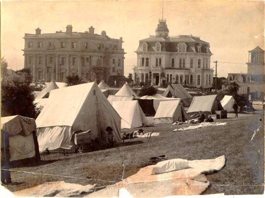 1906 Refugee Camp Lafayette Park