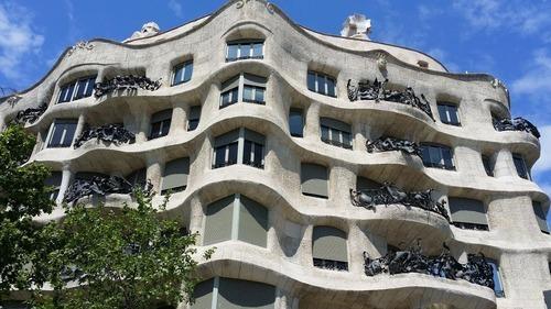 Casa Mila La Pedrera in Barcelona!