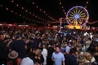 """Atmosphere of The Neon Carnival Presented By Paper Magazine With PacSun, """"Dope"""" The Movie And Tequila Don Julio on April 11, 2015 in Thermal, California. Photo Credit: Getty Images"""