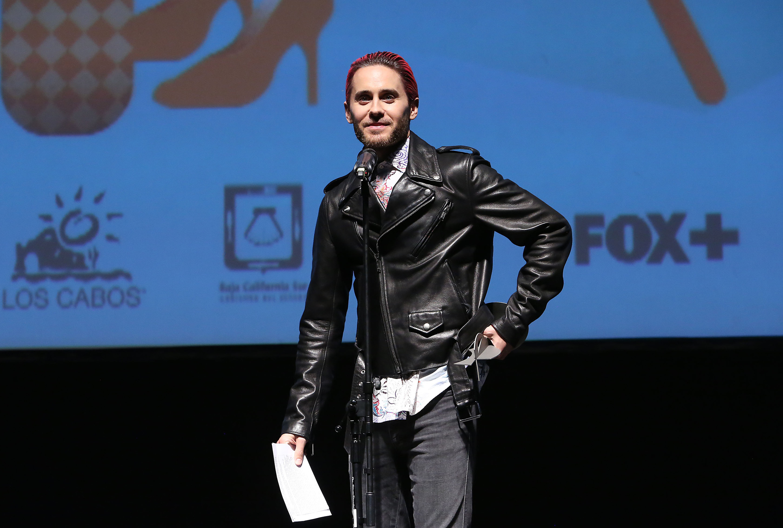 Jared Leto presented the 'Career Tribute' to Jean-Marc Vallée!  Photo Credit: Jesse Grant/Getty Images