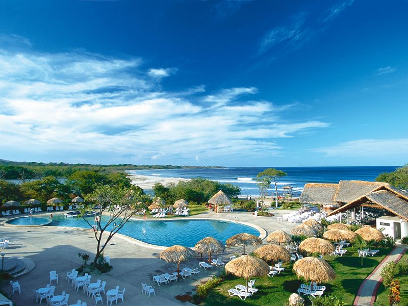 The View From the Barcelo Hotel in Tamarindo. Courtesy Photo